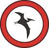 Zeichen mit Pterodactylus