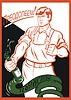 sowjetisches Anti-Alkoholismus Plakat