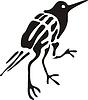 Chinesischer mythische dreibeinigen Vogel