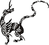 Chinesische mythische Kreatur