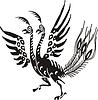 Chinesischer mythische Vogel