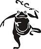 Chinesische mythische Kröte