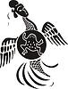Chinesischer mythische Vogel (Mond)