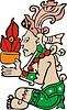 Gottheit der Maya