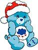schönes Weihnachten Teddybär Spielzeug