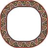 mittelalterlicher runde Rahmen