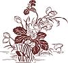 japanisches Blumendesign