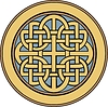 medieval Celtic ornamental knot