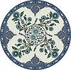 orientalisches Blütenornament