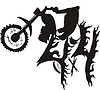 4x4 Biker Graffiti