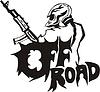 Off-Road-Schütze Tattoo