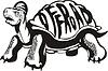 Off-Road-Schildkröte