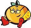 Vector clipart: roller mandarin