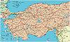 Fahrplan von Türkei