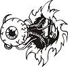 Auge des Cyborgs