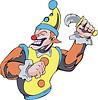 böses Clown