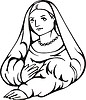 La donna velata; von Raffael