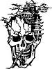 Schädel Tattoo