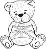 Teddybär Spielzeug mit Union Jack