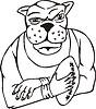Hund Maskottchen