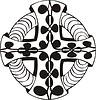 ornamentales Kreuz