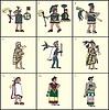 aztekische Menschen