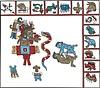 aztekische Hieroglyphen