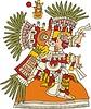 Tlahuizcalpantecuhtli - aztekischer Gott des Morgensterns (Venus)