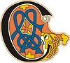 celtic initial letter C