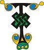 celtic initial letter T