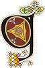 keltischer Buchstabe G