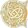 keltischer Buchstabe C
