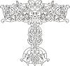 keltischer Buchstabe T