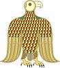 keltisches Clipart - Adler (Symbol des Evangelist Markus, B. von Durrow)
