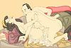 Liebhaber (japanische Shunga)