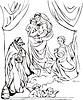 Sixtinische Madonna; von Raffael