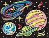 drei Exoplaneten