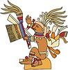 Centeotl - aztekischer Gott des Mais