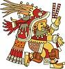 Chantico - aztekische Göttin des Feuers