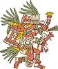 Huehuecoyotl - aztekischer Gott der Musik, Tanzes und Gesanges