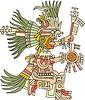 aztekischer Gott Huitzilopochtli