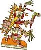 aztekische Gottheit Quetzalcoatl