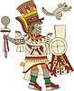 aztekische Gottheit Techalotl
