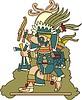 Tlaloc - aztekische Regengottheit