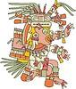 Xolotl - aztekischer Gott des Blitzes, des Todes und des Unglücks
