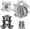Monogramme AH