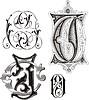 Monogramme CJ