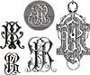 Monogramm JR (IR)