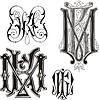 Monogramm KM