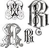 Monogramm RR